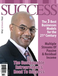 Success Magazine with Maxwell Toliver