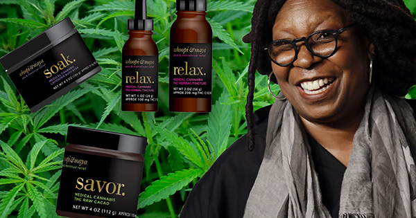 Whoopi Goldberg's Medical Marijuana product line