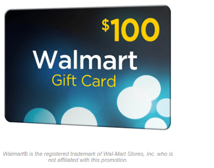 Get Your Walmart $100 Gift Card