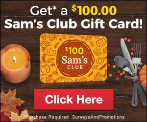 Sam Club Gift Card